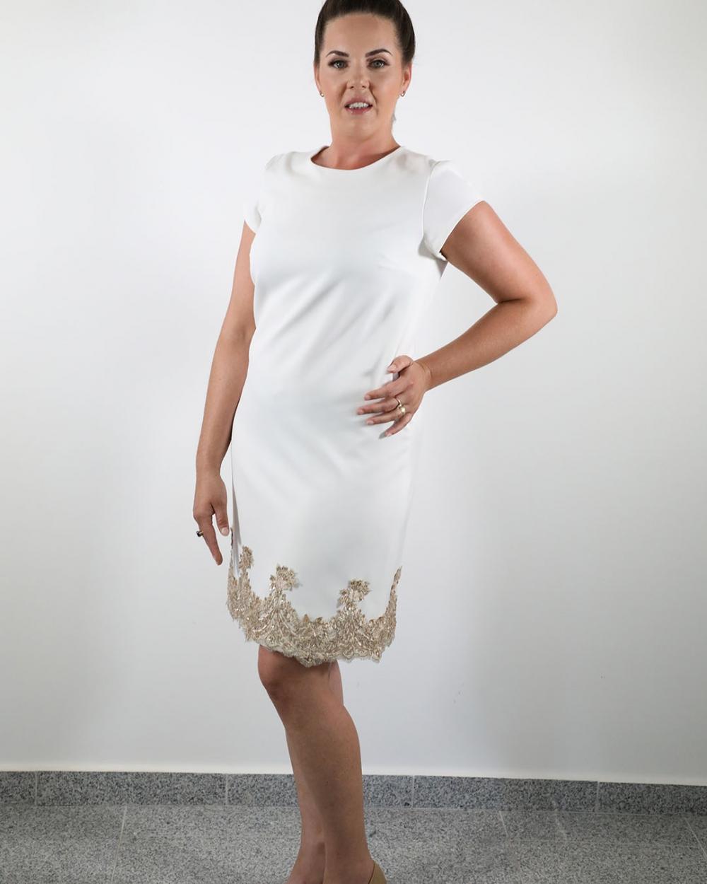 Haljina Doris - Bijela #1