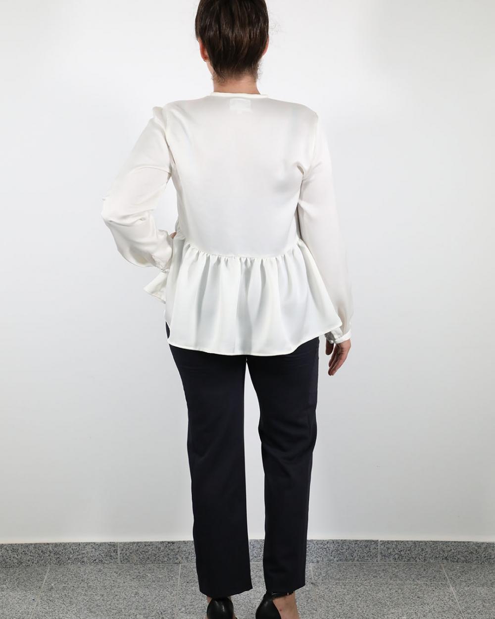 Bluza Mira Bijela - Hlače Leona