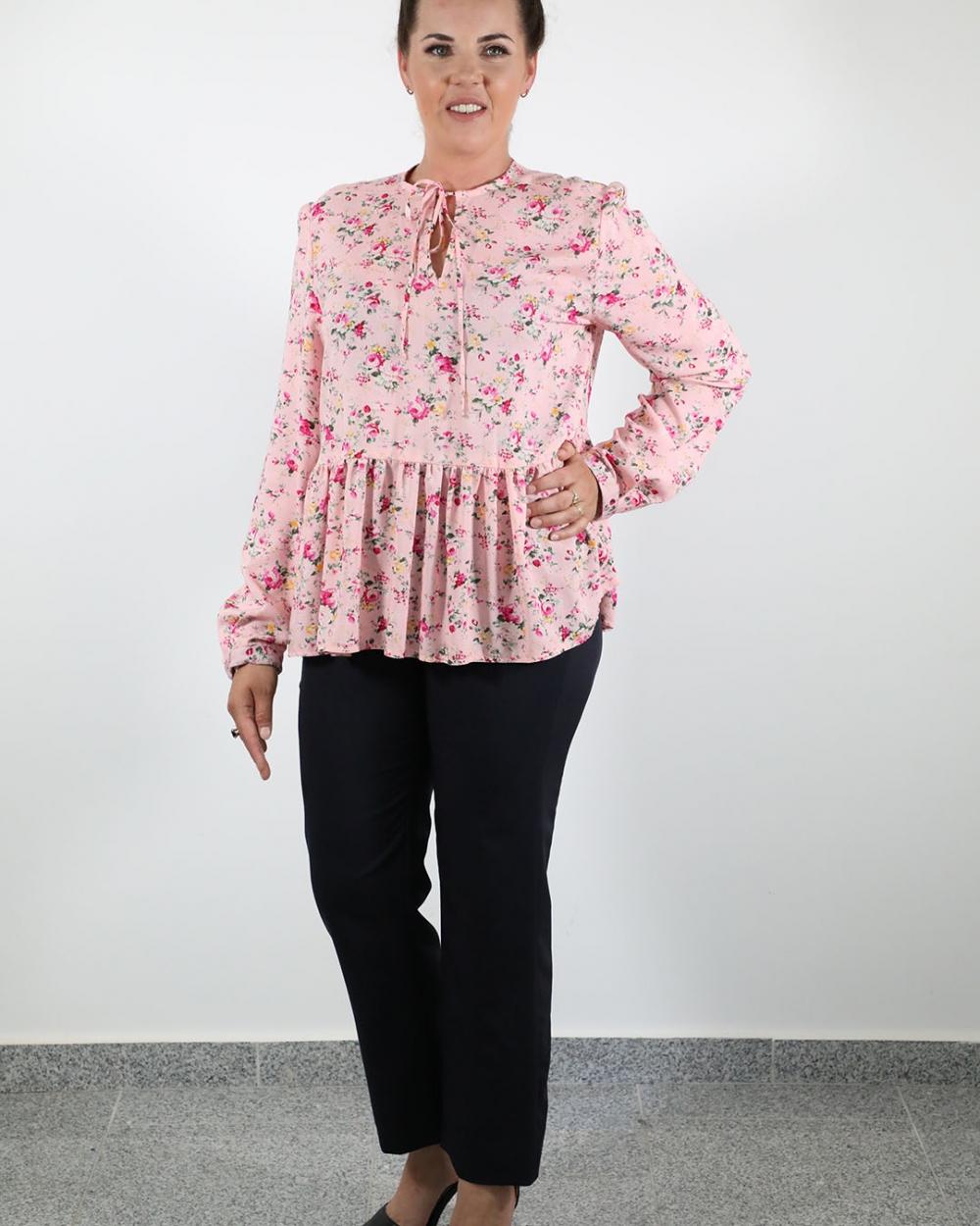 Bluza Mira Cvjetna - Hlače Leona