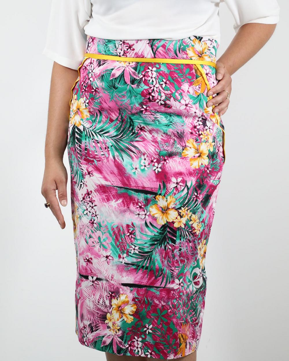 Suknja Hawaii - Ciklama