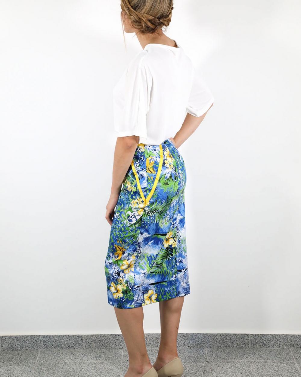 Suknja Hawaii - Plava