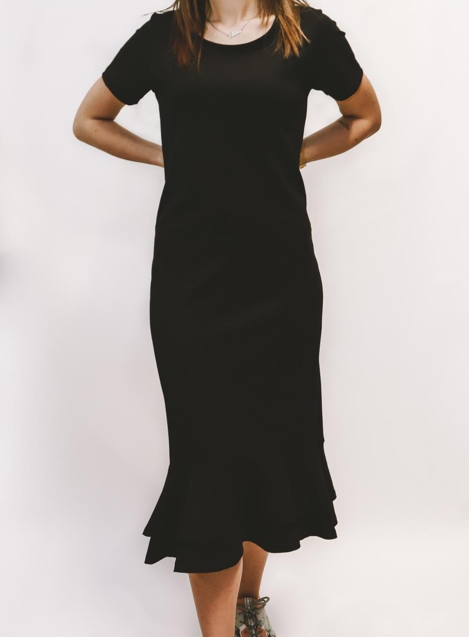 Crna haljina Ae design