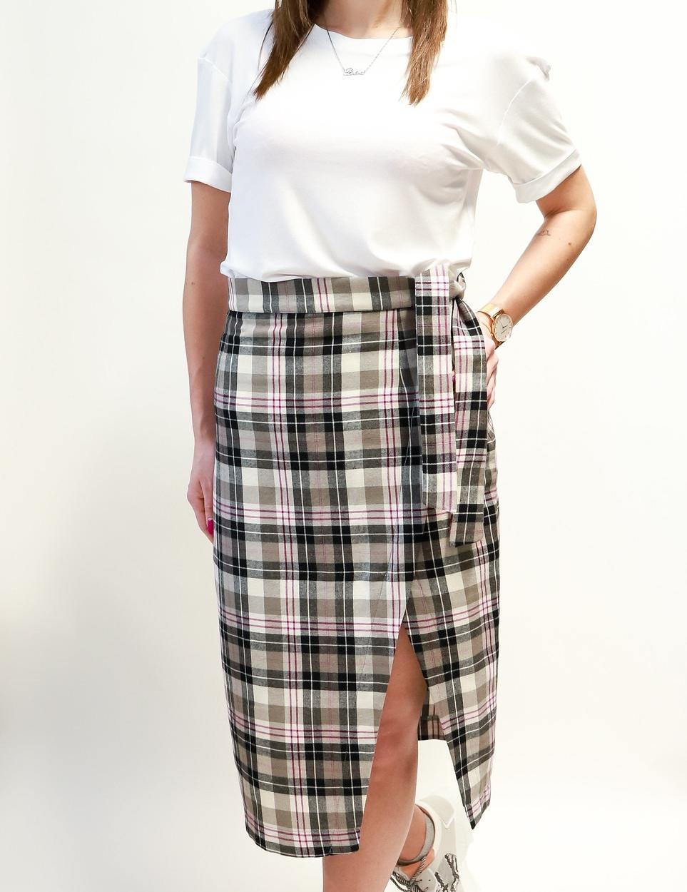Karirana suknja ADA - AE design