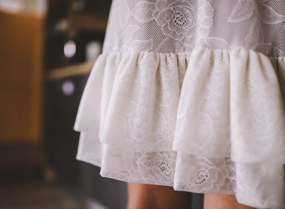 Ae design - Čipkana haljina Izy