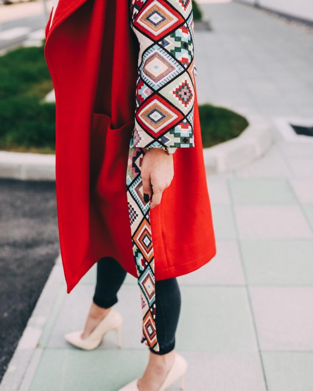 Ae design - Crveni kaput Joy