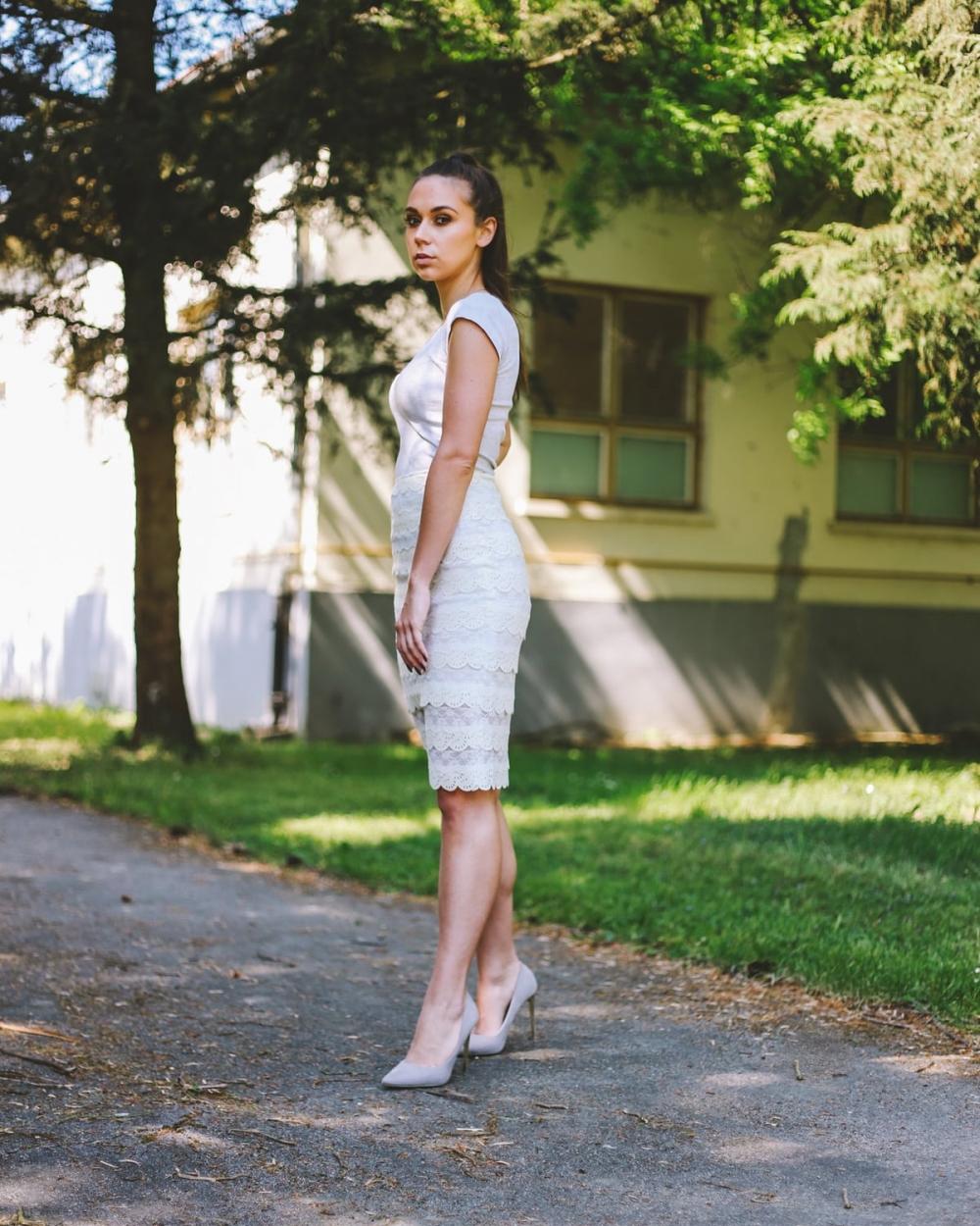 Bijela suknja - Ae design