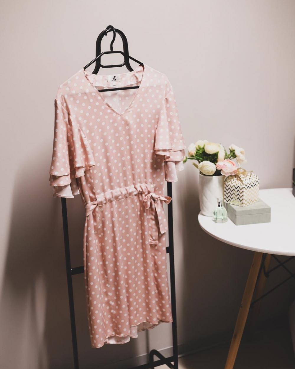 Roza haljina - AE design